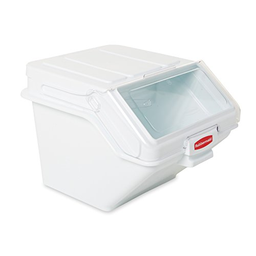 Measures 16-7/8  x 23-1/2 x 19-1/5 . Made from highest quality BPA free material for strong durability and safety. These bulk food storage containers resist ...  sc 1 st  TakenCity & Lock u0026 Lock Bulk Storage Bins Food Storage Container with Wheels ...