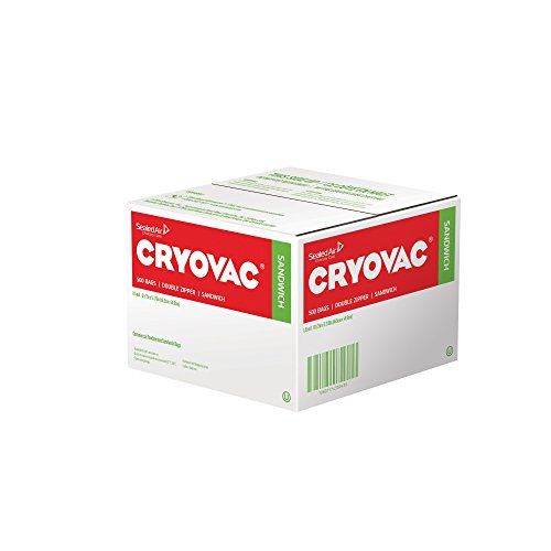 Professional Pack 250 Count Diversey Cryovac Resealable