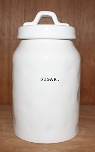 69d03a19b14 Rae Dunn SUGAR. in Typeset letters Canister Food Storage Container Cookie Jar  Sugar Bowl with sealing lid. By Magenta.