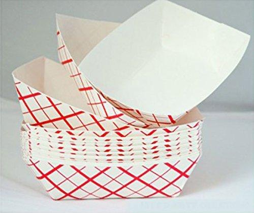 Popcorn Bags Coated for Leak//Tear Resistance Single Serving 1oz Paper 500 Pack