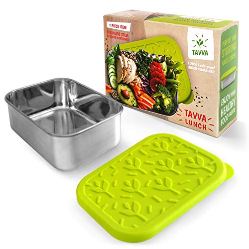 cc355bccbaa96 These stylish lunch containers come in 2 colors and finishes navy mirror  and green brushed and feature  100% leakproof