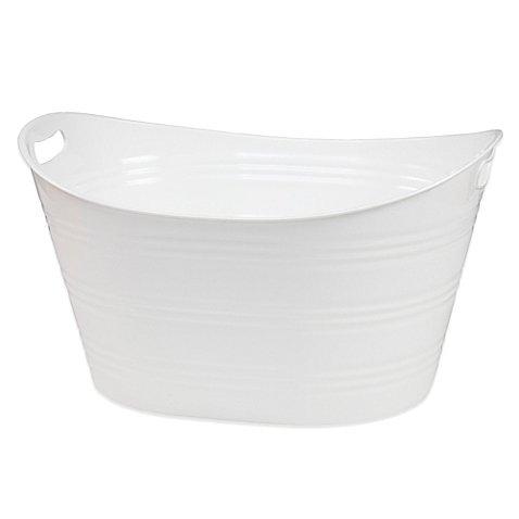 Oval Plastic Storage Tubs With Handle Oval Plastic Tub