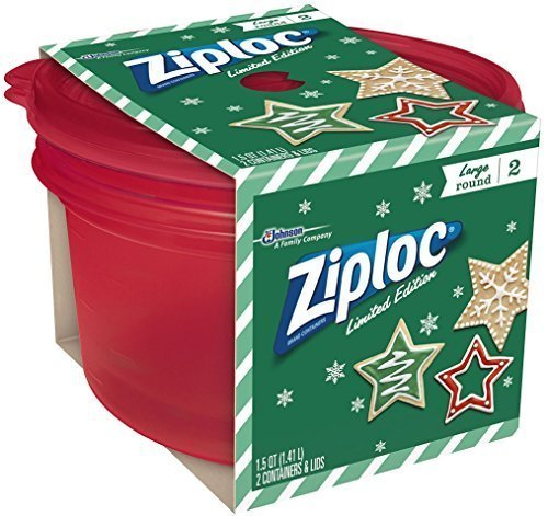 Ziploc Limited Edition Holiday Large Rectangular Container