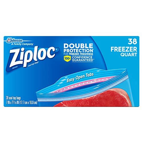 Pint 80 Count Ziploc Freezer Bags Takencity